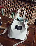 cheap -Women's Bags PU(Polyurethane) Tote Zipper Yellow / Light Gray / Sky Blue