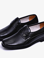 cheap -Men's Shoes Cowhide Spring Comfort Loafers & Slip-Ons Black