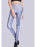 abordables -Mujer Diario Deportivo Legging - Geométrico Alta cintura