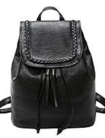 cheap -Women's Bags PU(Polyurethane) Backpack Buttons Black