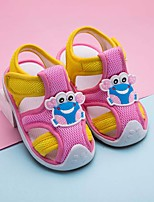 cheap -Girls' Shoes Mesh Spring & Summer First Walkers Sandals for Baby Beige / Blue / Pink