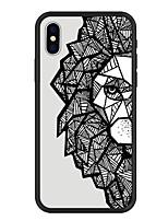 abordables -Coque Pour Apple iPhone X / iPhone 8 Plus Motif Coque Formes Géométriques / Bande dessinée Dur Acrylique pour iPhone X / iPhone 8 Plus / iPhone 8