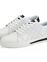 cheap -Men's Light Soles PU(Polyurethane) Fall Sneakers White / Black / Green