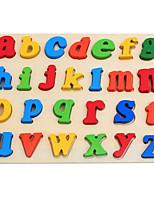 Недорогие -Игрушка для обучения чтению Буквы Взаимодействие родителей и детей деревянный Все Дети (1-4 лет) Подарок 1 pcs