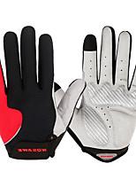 Недорогие -WOSAWE Полныйпалец Универсальные Мотоцикл перчатки Полиэстер / SBR Сенсорный экран / Дышащий / Износостойкий