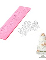 cheap -Bakeware tools Silicone DIY For Cookie / For Chocolate / Cake Cake Molds / Dessert Decorators / Baking & Pastry Tools 1pc