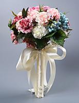 abordables -Fleurs de mariage Bouquets Mariage Comme Soie Satin / / 11-20 cm