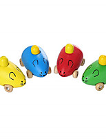 cheap -Toy Car Mouse Parent-Child Interaction / Creepy Wooden All Children's Gift 1 pcs