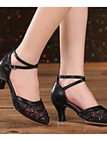 preiswerte -Damen Schuhe für modern Dance Spitze Absätze Schlanke High Heel Tanzschuhe Gold / Schwarz / Blau
