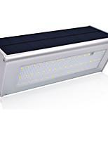 abordables -1pc 6.8 W Luz de pared solar Solar / Impermeable / Control de luz Blanco 3.2 V Iluminación Exterior / Patio / Jardín