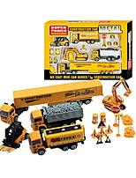 cheap -Toy Car Construction Truck Set / Excavator Creative Metal Alloy Child's Gift
