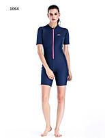 cheap -Women's Shorty Wetsuit 2mm Diving Suit Anatomic Design Short Sleeve Autumn / Fall / Spring / Summer