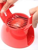 abordables -Outils de cuisine Acier Inoxydable Ustensiles pour fruits & légumes Manuel(le) Outils de salade / Trancheuse Tomate 1pc