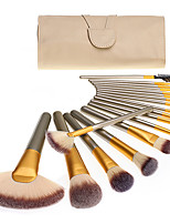 cheap -18pcs Makeup Brushes Professional Makeup Brush Set Nylon fiber Eco-friendly / Soft Wooden / Bamboo