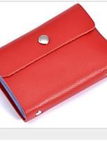 cheap -Women's Bags PU(Polyurethane) Wallet Zipper Black / Red / Yellow