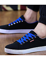 cheap -Men's Shoes Suede Summer Comfort Sneakers Black / White / Black / Red / Black / Blue