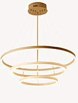 cheap -Oulm 3-Light Circular Chandelier Ambient Light - New Design, Creative, 110-120V / 220-240V, Warm White / Dimmable With Remote Control, LED Light Source Included