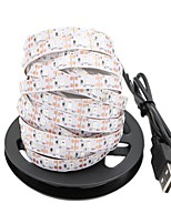 cheap -5m Flexible LED Light Strips 300 LEDs 2835 SMD Red / Blue / Green Cuttable / USB / Decorative USB Powered 1pc