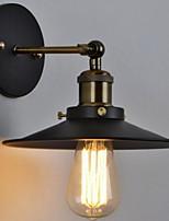 economico -Anti-riflesso Antico Lampade da parete Salotto Metallo Luce a muro 220-240V 40 W