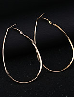 cheap -Women's Hoop Earrings - Star Classic, Basic Gold For Daily / Holiday