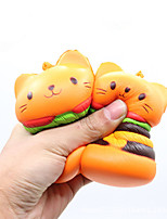 cheap -Stress Reliever Cat / Hamburger Stress and Anxiety Relief / Comfy PORON 1 pcs Adults All Gift