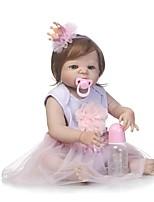 cheap -NPKCOLLECTION Reborn Doll Baby Girl 24 inch Full Body Silicone / Silicone / Vinyl - lifelike Kid's Girls' Gift