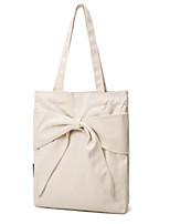 cheap -Women's Bags Canvas Shoulder Bag Bow(s) White / Black / Orange