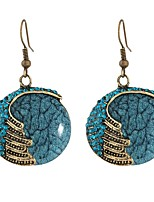 cheap -Women's Drop Earrings - Bohemian, Ethnic Red / Blue For Evening Party / Street