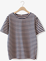 cheap -Women's Basic T-shirt - Geometric