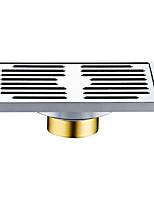 Недорогие -Слив Новый дизайн / Многофункциональный Modern Нержавеющая сталь 1шт Установка на полу