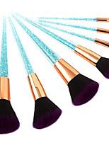 cheap -7 pcs Makeup Brushes Professional Makeup Brush Set Nylon fiber Eco-friendly / Soft Plastic