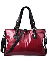 cheap -Women's Bags PU(Polyurethane) / Alloy Tote Beading / Buttons Red