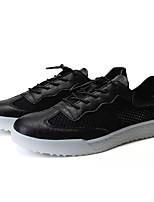 Недорогие -Муж. Сетка Лето Удобная обувь Кеды Белый / Черный