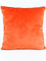 cheap -1 pcs Velvet Pillow Cover / Pillow Protector / Pillow Case, Mixed Color / Plain Nature Inspired / Modern / Contemporary