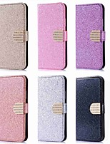 cheap -Case For Huawei P20 Pro / P20 lite Card Holder / Rhinestone / with Stand Full Body Cases Glitter Shine Hard PU Leather for Huawei P20 /