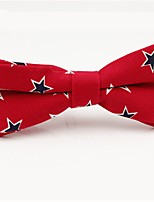 cheap -Men's Party / Basic Cotton / Polyester Bow Tie - Galaxy / Color Block / Patchwork Bow / All Seasons