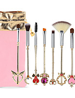 cheap -8pcs Makeup Brushes Professional Makeup Brush Set Nylon fiber Eco-friendly / Soft Aluminium Alloy 7005