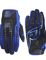 baratos -RidingTribe Dedo Total Unisexo Motos luvas uretano poli / silica Gel / Malha Respirável Respirável / Sensível ao Toque
