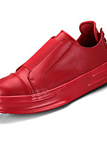 cheap -Men's Shoes PU(Polyurethane) Summer Comfort Loafers & Slip-Ons White / Black / Red