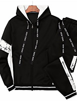 cheap -men's long sleeve hoodie - solid colored round neck