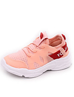 cheap -Girls' Shoes PU(Polyurethane) Spring & Summer Comfort Athletic Shoes Walking Shoes for Teenager White / Black / Pink