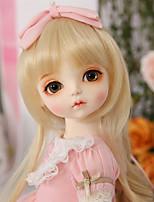 Недорогие -OuenElfs Кукла с шаром / Блайт Кукла Девочки 16 дюймовый Полный силикон для тела - Высокотемпературные резистивные парики Детские Девочки Подарок