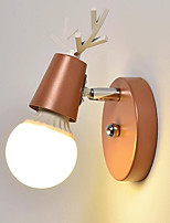 cheap -Adorable Modern / Contemporary Wall Lamps & Sconces Living Room / Study Room / Office Metal Wall Light 110-120V / 220-240V 40 W