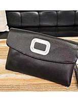 economico -Cerniera unisex in nappa con cinturino in pelle nera