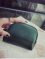 cheap -Women's Bags PU(Polyurethane) Clutch Zipper Green / Black