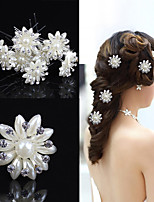 cheap -Pins Hair Accessories Rhinestones Wigs Accessories Women's 6pcs pcs 20m cm Daily Wear Headpieces Adorable