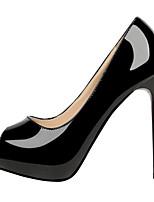 economico -Per donna Scarpe PU (Poliuretano) Primavera Comoda / Decolleté Tacchi A stiletto Bianco / Nero / Rosso