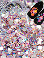 cheap -1 pcs Nail Jewelry Luminous nail art Manicure Pedicure Wedding / Wedding Party / Daily Wear Metallic / Sparkle & Shine