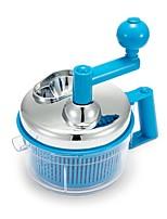 abordables -Herramientas de cocina Acero Inoxidable + Plástico Nuevo diseño / Cocina creativa Gadget Exprimidor Manual Múltiples Funciones / para vegetal 1pc