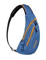 cheap -10-20 L Hiking Sling Backpack - Lightweight, Rain-Proof, YKK Zipper Outdoor Hiking, Camping, Travel Nylon Black / Green, Black / Blue, Dark Navy